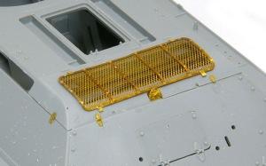 T-34/76戦車STZ エンジンデッキの組み立て