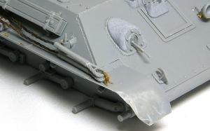 T-34/76戦車STZ 鋳造肌の追加