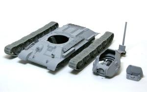 T-34/76戦車STZ サフ吹き