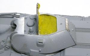 T-34/76戦車STZ 天板の接着