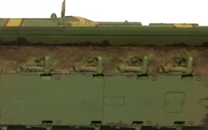 T-34/76戦車STZ 車体下部の汚し