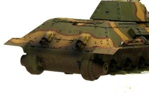 T-34/76戦車STZ 車体後部の汚し