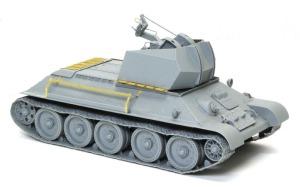 ドイツ・T-34対空戦車 組立て完了