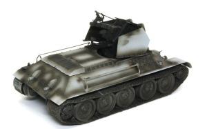 ドイツ・T-34対空戦車 サフ吹きと影吹き