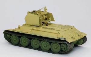 ドイツ・T-34対空戦車 基本塗装