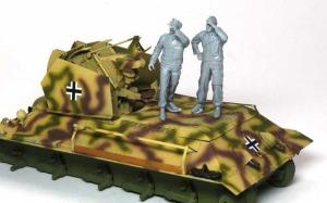 ドイツ・T-34対空戦車 フィギュアの組立て