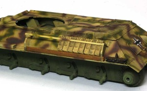 ドイツ・T-34対空戦車 砲弾ケース