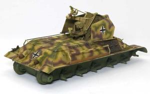 ドイツ・T-34対空戦車 ドライブラシ