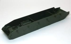 ソビエト重戦車・T-35 箱組のシャーシ