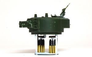 ソビエト重戦車・T-35 砲塔内部の塗装と組立て
