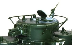 ソビエト重戦車・T-35 アンテナの取り付け