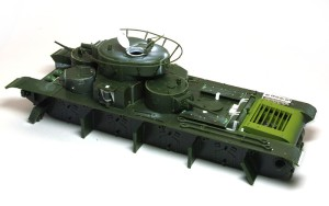 ソビエト重戦車・T-35 サイドスカート以外の組立て完了