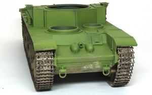 ソビエト重戦車・T-35 履帯の接地部