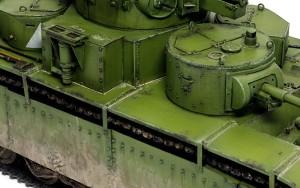ソビエト重戦車・T-35 埃汚れ