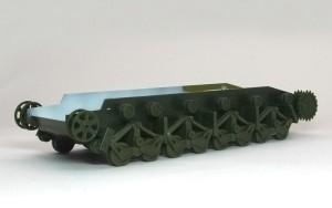 ソビエト重戦車・T-35 足まわりの組立て