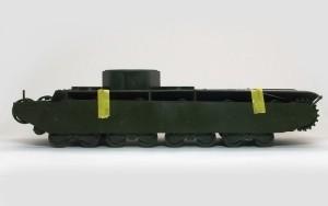 ソビエト重戦車・T-35 厚すぎるサイドスカート