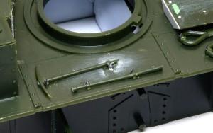 ソビエト重戦車・T-35 OVMの取り付け