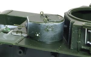 ソビエト重戦車・T-35 銃塔の組立て