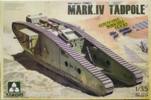 イギリス・マーク4戦車タッドポール 1/35 タコム