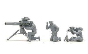 アメリカ海兵隊・対戦車部隊 フィギュアの組み立て