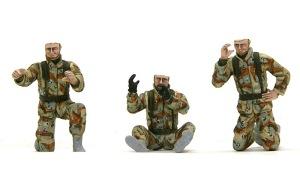 アメリカ海兵隊・対戦車部隊 顔の塗装