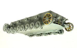 4号潜水戦車D型 足まわりの組立て