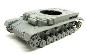 4号潜水戦車D型 車体の組立て