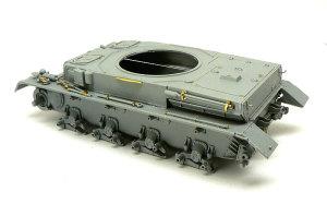 4号潜水戦車D型 OVMの組立て