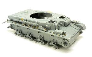 4号潜水戦車D型 右側OVMの組立て