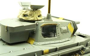 4号潜水戦車D型 砲塔の組立て
