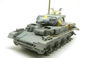 4号潜水戦車D型 組立て完了