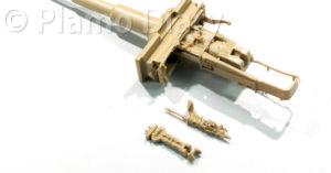 照準器と同軸機銃