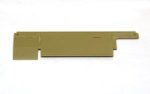 タイガー1極初期生産型 前部装甲板の加工