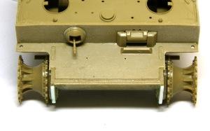 タイガー1極初期生産型 合わせ目の処理