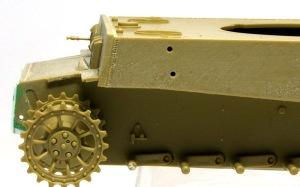 タイガー1極初期生産型 車体の組み立て