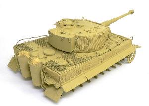 ティーガー1後期生産型 基本塗装