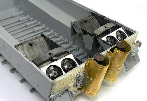 ティーガー1後期生産型 ラジエター