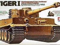 ドイツ重戦車・タイガー1中期型 1/35 タミヤ