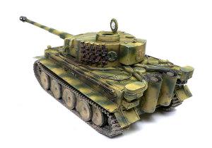 ドイツ重戦車・タイガー1初期生産型 仕上げ