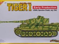 ドイツ・6号戦車E型ティーガー1初期生産型 1/35 サイバーホビー