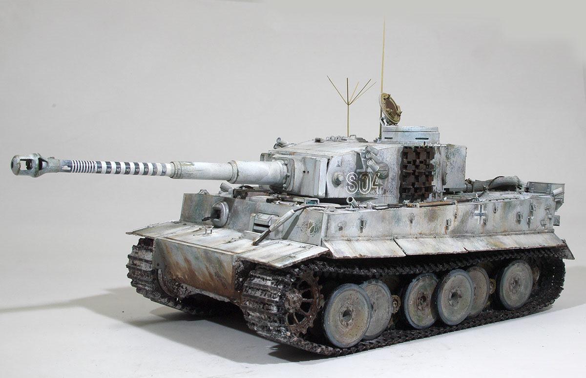 車輌の仕上げ タイガー1初期生産型