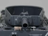 同軸機銃の穴を塞ぐ