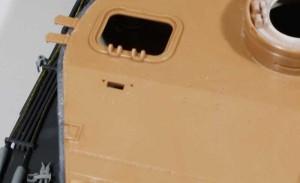 溶接痕のあるズベズダの天板と交換