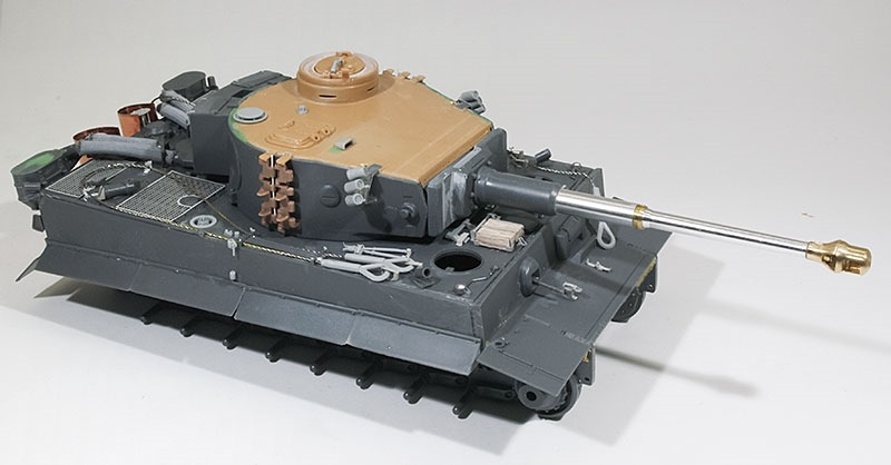 組立て完了 タイガー1初期生産型