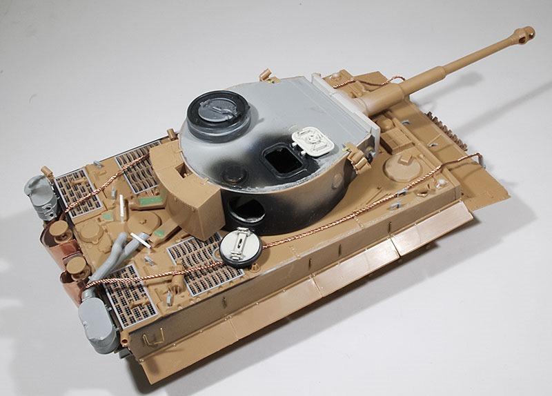 組立て完了 ティーガー1初期生産型