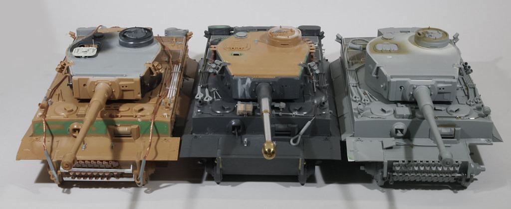 ティーガー1初期生産型
