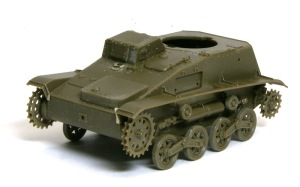 九四式軽装甲車[TK] 車体の組み立て