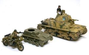 九四式軽装甲車[TK] 大きさの比較