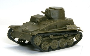 九四式軽装甲車[TK] 組立て完了