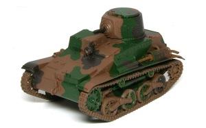 九四式軽装甲車[TK] 迷彩3色目